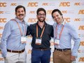 Myself in-between Juan and Ollie at the ADC 2019 in Canberra