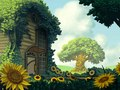 """Background design for """"Song of the World"""".  Done in Sketchbook Pro and Photoshop for Bully! Entertainment."""