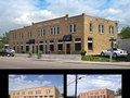 Hogan building update: before and after.