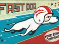 Fast Dog Vintage packaging
