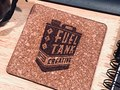 Fuel Tank Creative promo coasters.