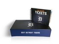 Ticket box and book designed for Tigers premium season ticket holders.