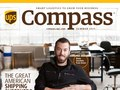UPS Compass Print Magazine Cover—2015 Redesign (Photography by Tracey Powell)