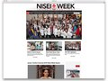 Website design for www.niseiweek.org, a non-profit foundation based in the Little Tokyo community of Los Angeles, California.