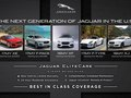 Next Generation of Jaguar infographic for Jaguar Land Rover NA, LLC