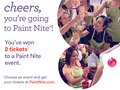 Paint Nite Free Ticket Flyer